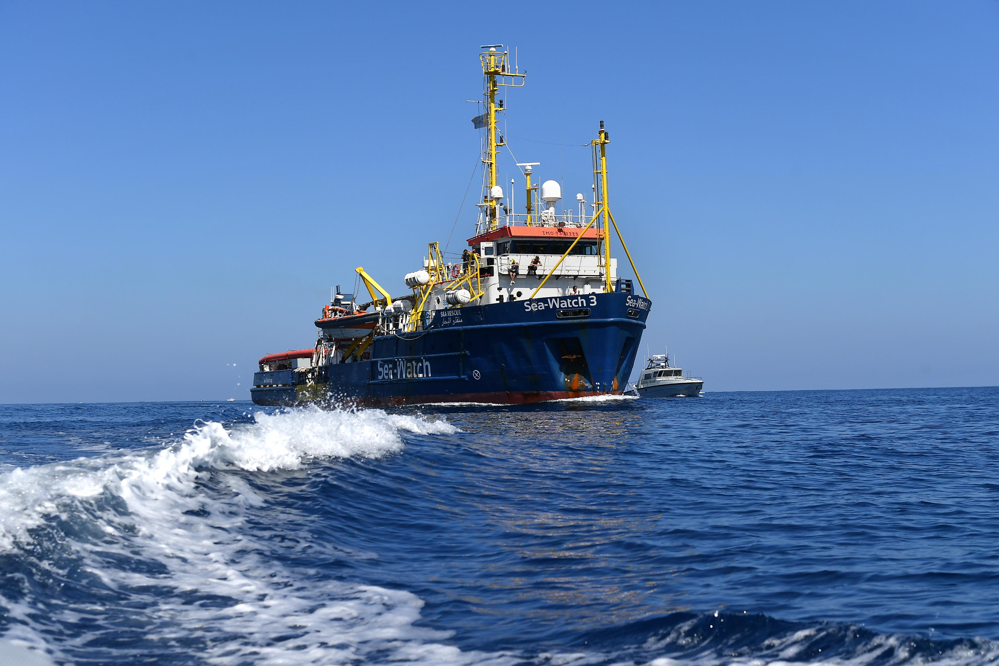 Sea Watch 3 e Carola Rackete - Matteo Marinelli