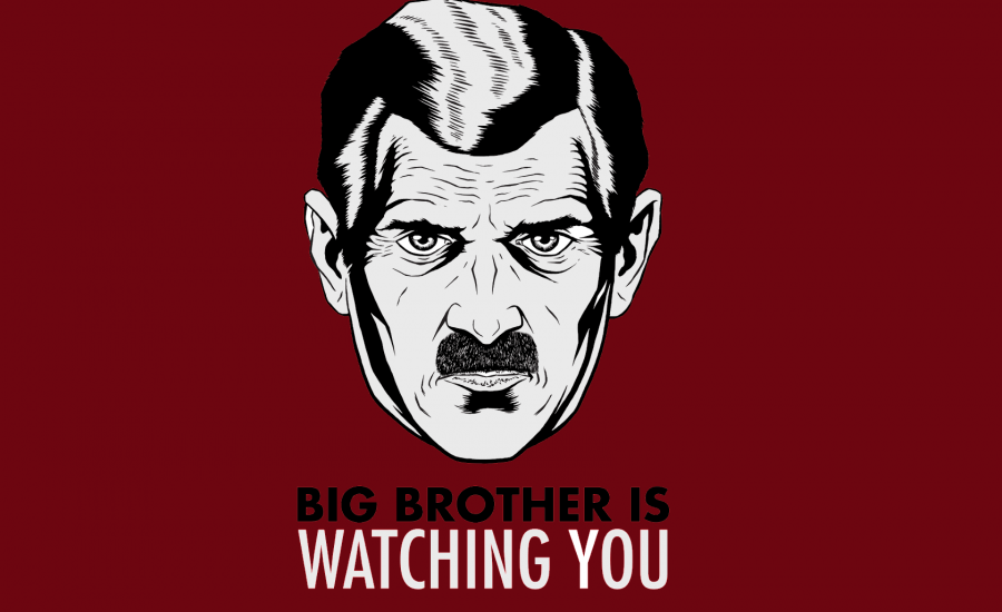 """Copertina """"1984"""", George Orwell - L'importanza della privacy secondo Matteo Marinelli"""
